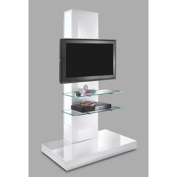 tv rack tv phonom bel media wohnzimmer wei hochglanz neu 747848 ebay. Black Bedroom Furniture Sets. Home Design Ideas